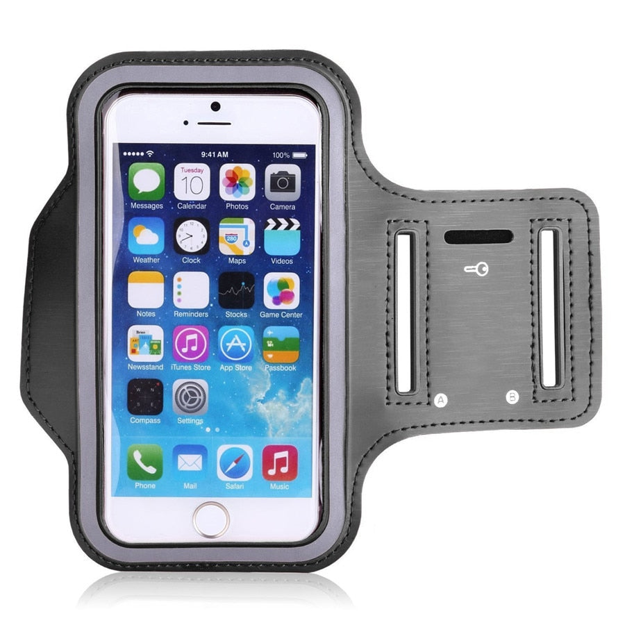 Universal Outdoor Sports Phone Holder Armband Case for Samsung Gym Running Phone Bag Arm Band Case