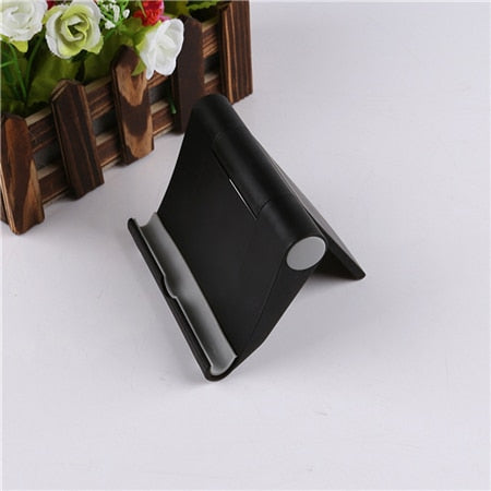 Universal Rotary Tablet PC Smartphone Stand Foldable Mobile Phone Mount Phone Holder for Iphone X XS