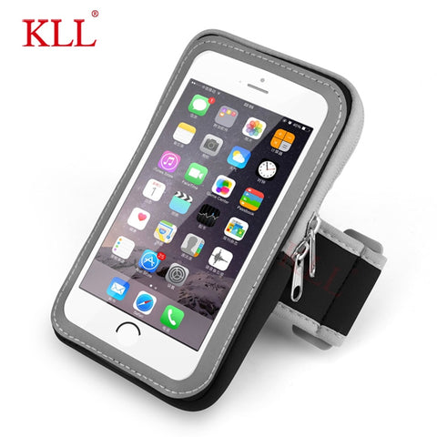 Universal Waterproof Mobile Phone Sport Armband Case for iPhone Running Phone Arm Band Brassard