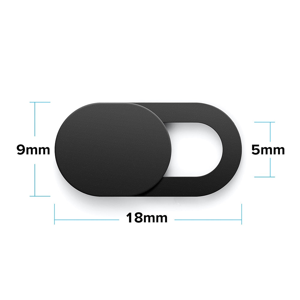 Universal WebCam Cover Shutter Magnet Slider Plastic Camera Cover