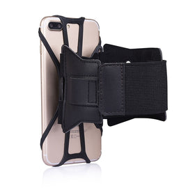 Universal magnetic arm case phone holder Armband For iPhone X 6s 7 8 PLUS for Samsung S7 S8 s9 for