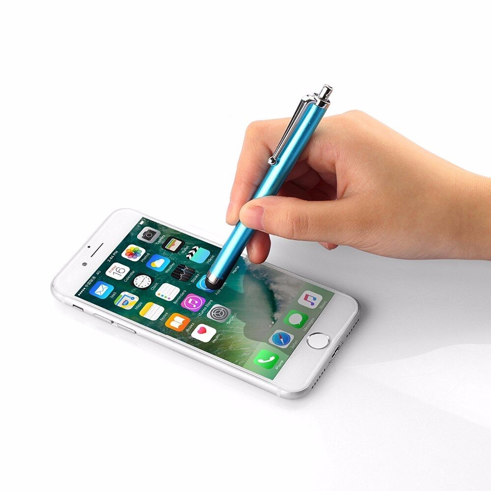 VSKEY 10pcs Universal Capacitive Stylus Pen For iPhone iPad Samsung Sony LG Xiaomi Huawei