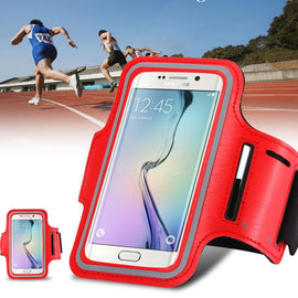 Waterproof Sport Gym Running Armband for Samsung Galaxy S7/S6/S5/S4/S3 A5 A3 Mobile Phone Pouch Bag  Case Key Holder Armband