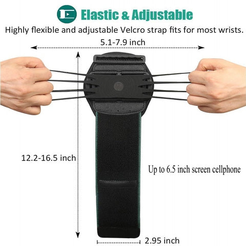 "Wristband Phone Holder for iPhone Running 4""-6.5"" inch Universal Sports Armband"