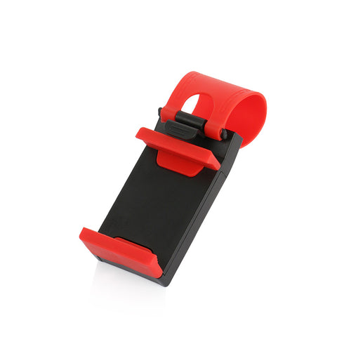 YeeSite Universal Car Steering Wheel Clip Mount Holder for iPhone 8 7 7Plus 6 6s Samsung Xiaomi