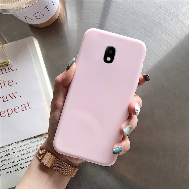 candy color silicone phone case on for samsung galaxy j7 j6 j5 j4 j3 j2 prime pro core 2018 2017