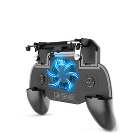 for PUBG Mobile Gamepad Controller radiating fan Trigger Shooter for Phone Joystick Phone Holder