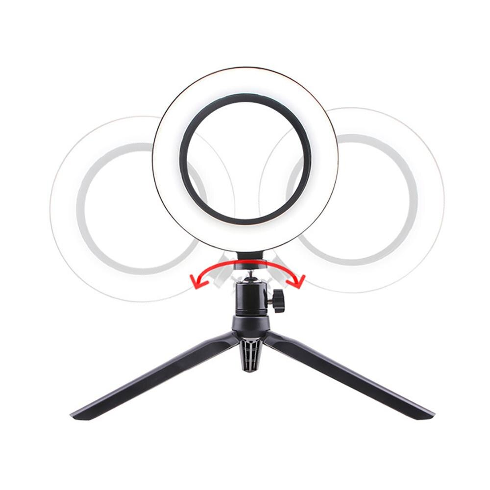 selfie ring light usb Interface Dimmable LED Camera Phone Photography Video Makeup Lamp With