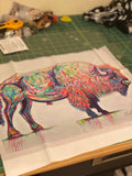 The Loneliest Bison - Talitha B Jacobs Designs (Made to Order)