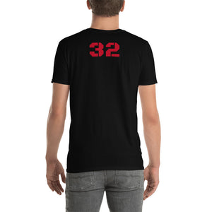 "8 Pl ""Loser"" T shirt, C/S on back customize  ""32"" with added A,B,C,D,W - Ding's Place"