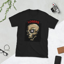"Load image into Gallery viewer, 8 Pl ""Loser"" T shirt, C/S on back customize  ""32"" with added A,B,C,D,W - Ding's Place"