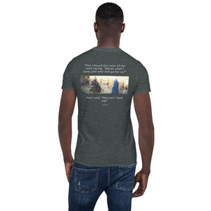 "Courage ""Faith, Love, Hope"" Short-Sleeve Unisex T-Shirt - Ding's Place"