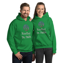 Load image into Gallery viewer, Rooted in Faith Unisex Hoodie - Ding's Place