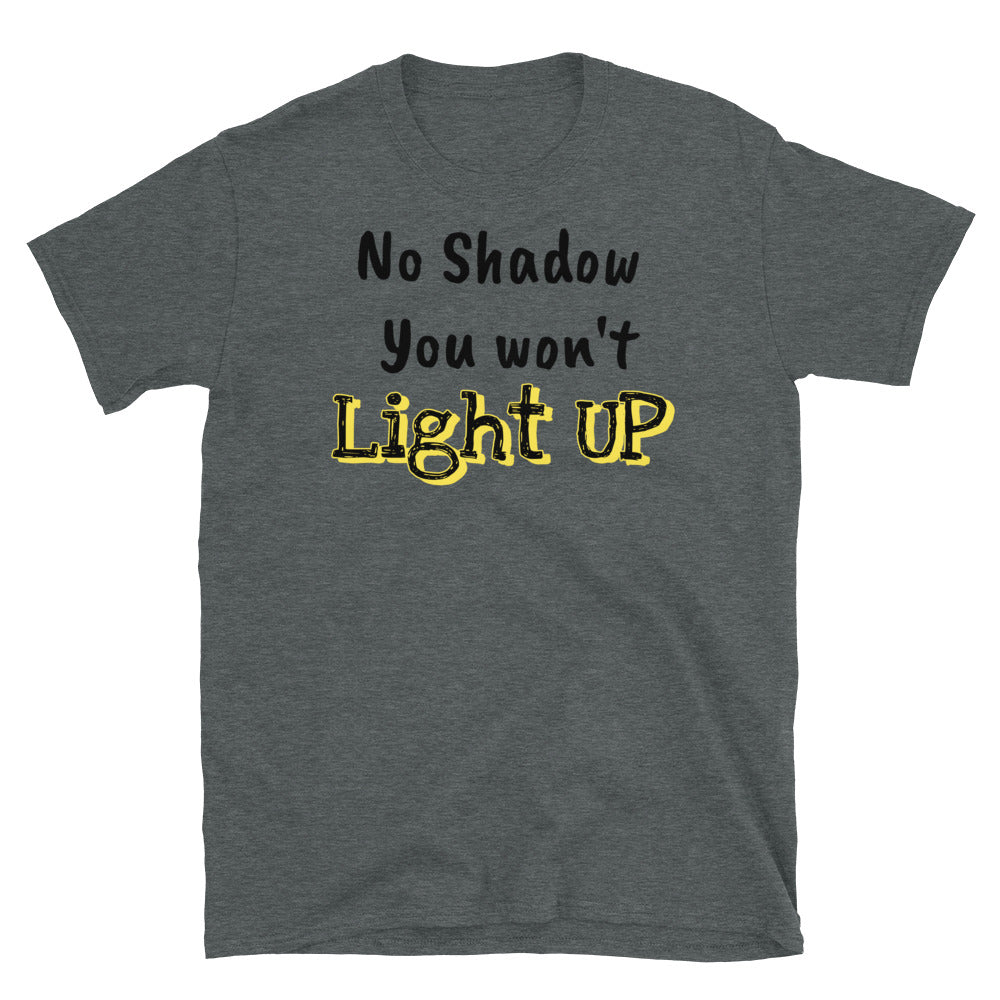 Light Up Short-Sleeve Unisex T-Shirt - Ding's Place