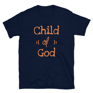 Child of God Faith based Short-Sleeve Unisex T-Shirt - Ding's Place