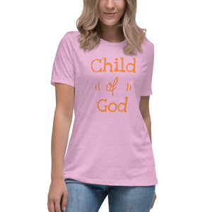 Child of God Women's Relaxed T-Shirt - Ding's Place
