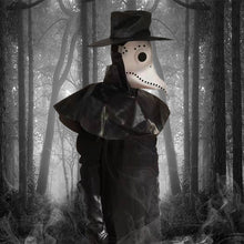 Load image into Gallery viewer, plague doctor mask Beak Doctor Mask Long Nose Cosplay Fancy Mask plague doctor Gothic Retro Rock Leather Halloween beak Mask PY - Ding's Place