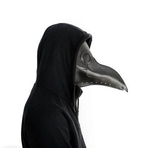 plague doctor mask Beak Doctor Mask Long Nose Cosplay Fancy Mask plague doctor Gothic Retro Rock Leather Halloween beak Mask PY - Ding's Place