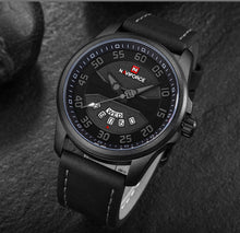 Load image into Gallery viewer, NAVIFORCE Men Fashion Sport Watches Men's Quartz Clock Man Leather Wrist Watch relogio masculino - Ding's Place