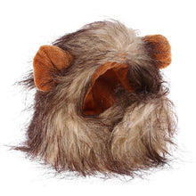 Load image into Gallery viewer, Funny Cute Pet Cat Costume Lion Mane Wig Cap Hat for Cat Dog Halloween Christmas Clothes Fancy Dress with Ears Pet Clothes - Ding's Place