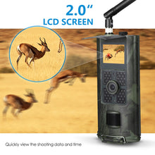 Load image into Gallery viewer, Cellular Hunting Camera 2G GSM MMS SMS SMTP Trail Camera Mobile 16MP Night Vision Wireless Wildlife Surveillance HC700M - Ding's Place