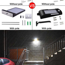 Load image into Gallery viewer, Newest 450LM 48 LED Solar Power Street Light PIR Motion Sensor Lamps Garden Security Lamp Outdoor Street Waterproof Wall Lights - Ding's Place
