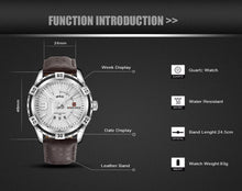 Load image into Gallery viewer, New NAVIFORCE Men Watches Fashion Quartz Wrist Watches Men's Military Waterproof Sports Watch Male Date Clock Relogio Masculino - Ding's Place