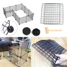 Load image into Gallery viewer, Pet Playpen Bunny Cage Fence  DIY Small Animal Exercise Pen Crate Kennel Hutch for Guinea Pigs & Rabbits Upgrade Version - Ding's Place