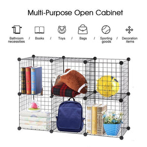 Pet Playpen Bunny Cage Fence  DIY Small Animal Exercise Pen Crate Kennel Hutch for Guinea Pigs & Rabbits Upgrade Version - Ding's Place