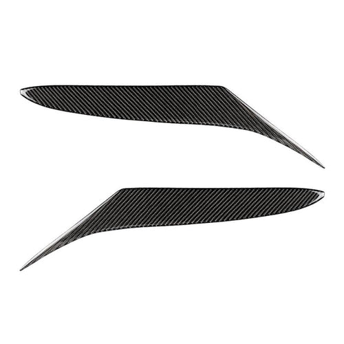 1 Pair Carbon Fiber Headlight Lid Eyebrow EyeLids Stickers Cover Decoration Accessories for Mazda RX-8 RX8 2004-2008 Car Styling - Ding's Place