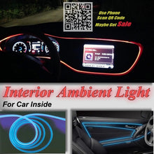 Load image into Gallery viewer, For Mazda RX7 RX 8 RX8 Cosmo Biante Carol Car Interior NOVOVISU Ambient Light Panel Strip illumination Inside Optic Fiber Light - Ding's Place