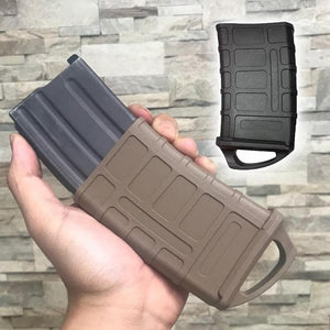 M4/M16 Rubber Holster Hunting Tactical Rubber Bag 5.56 Mag Bag Water Hunt Box Toy Ammo Bag Water Gun Cartridge Accessories - Ding's Place