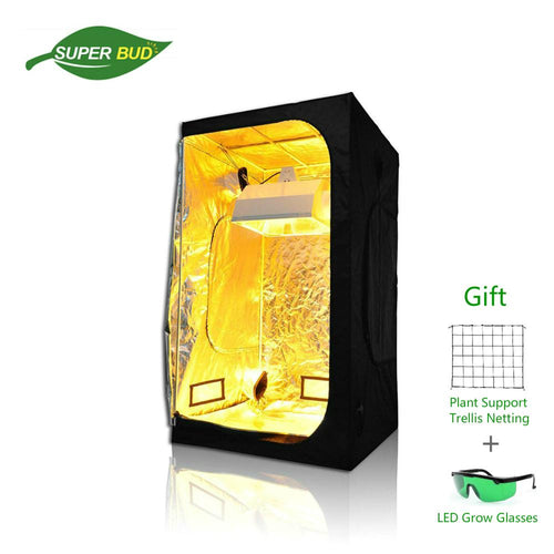 Hydroponics Indoor Grow Tent Kit Grow Room Grow Box 2'x2' 3'x3' 4'x4' 5'x5' 6'x6' for Indoor Plant Growing - Ding's Place