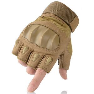 Touchscreen PU Leather Motorcycle Hard Knuckle Full Finger Gloves Protective Gear Racing Biker Riding Motorbike Moto Motocross - Ding's Place