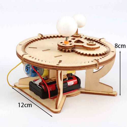 Kids DIY Sun-Moon-Earth Geography Model Scientific Experiment Toys Kits STEM Science Project Worldwide Education For Kids - Ding's Place