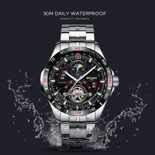 Load image into Gallery viewer, BOYZHE 2019 New Automatic Mechanical Watch Men's Tourbillon Watch Male 316 Steel Watches 30m Waterproof Sports Clock Luminous - Ding's Place