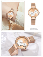 Load image into Gallery viewer, NAVIFORCE New Rose Gold Women Watches Dress Quartz Watch Ladies Top Brand Luxury Female Wrist Watch Girl Clock Relogio Feminin - Ding's Place