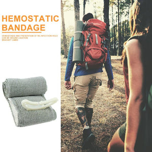 Israel Emergency Elastic Bandage First Aid Kit Hemostasis Trauma Compression Band Bandage Outdoor camping Hiking Traveling Out - Ding's Place