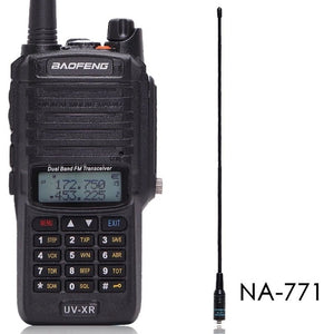 Baofeng UV-XR 10W High Power 4800Mah Battery IP67 WaterProof VHF UHF Dual Band Walkie Talkie Two Way Radio - Ding's Place