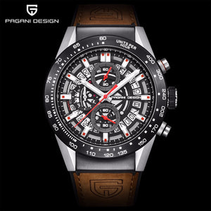 PAGANI DESIGN 2020 mens watches Top Brand Luxury Waterproof Quartz Watch men Sport Military Men's Wrist Watch Relogio Masculino - Ding's Place