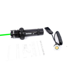 Green Red Dot Laser, Adjustable Switch Rifle - Ding's Place