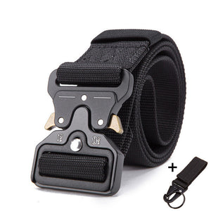 Tactical Belt Military Nylon Belt Outdoor multifunctional Training Belt High Quality Strap ceintures - Ding's Place