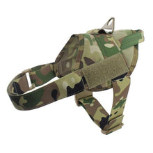 Load image into Gallery viewer, Tactical Dog Harness Military Patrol K9 Working Pet Dog Collar Harness Service Dog Vest With Handle Dogs Supplies - Ding's Place