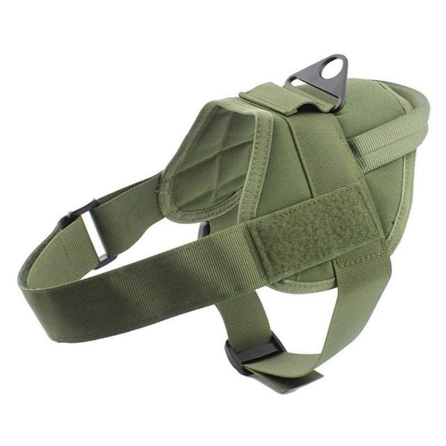 Tactical Dog Harness Military Patrol K9 Working Pet Dog Collar Harness Service Dog Vest With Handle Dogs Supplies - Ding's Place