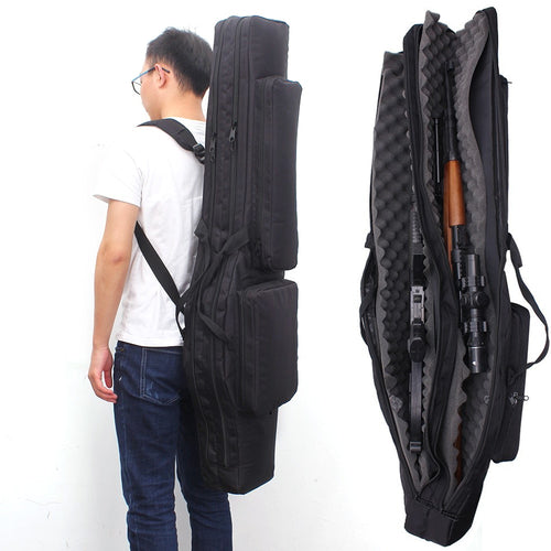 120CM Tactical Gun Bag Fifle Bags Hunting Backpack Military Carbine Holster Shooting Case CS Multifunctional Bag For Fishing - Ding's Place