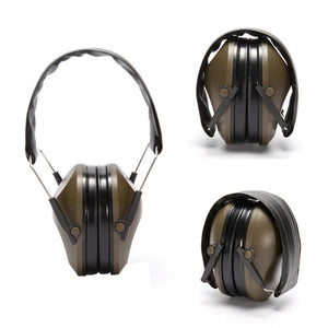 Anti-noise Earmuffs Tactical Outdoor Hunting Shooting Hearing Protection Ear Protector Soundproof Ear Muff (NOT Electronic) - Ding's Place