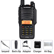 Load image into Gallery viewer, 10W Baofeng UV-9R plus Walkie Talkie Waterproof Dual Band Portable CB Hunting Ham Radio UV 9R Plus hf Transceiver 9R Transmitter - Ding's Place