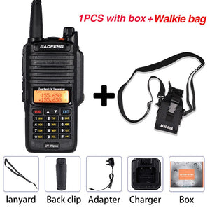 10W Baofeng UV-9R plus Walkie Talkie Waterproof Dual Band Portable CB Hunting Ham Radio UV 9R Plus hf Transceiver 9R Transmitter - Ding's Place