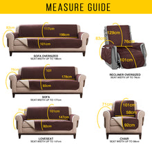 Load image into Gallery viewer, Sectional Sofa Couch Cover Pet Dog Kids Mat Stretch Elastic Recliner Sofa Cover Furniture Protector Water Resistance Anti-Slip - Ding's Place