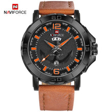 Load image into Gallery viewer, NAVIFORCE Men's Fashion Business Quartz Wristwatches Creative Sports Watches Men Luxury Brand Watch Clock Male Relogio Masculino - Ding's Place